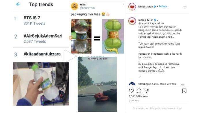 Viral di Media Sosial, Minuman ini Banyak di Cari Netizen!