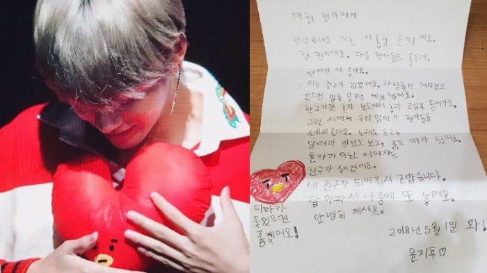 Pesan Haru Fans Berusia 9 Tahun untuk V BTS: Aku Dulu Tak Punya Teman, Seperti Boneka