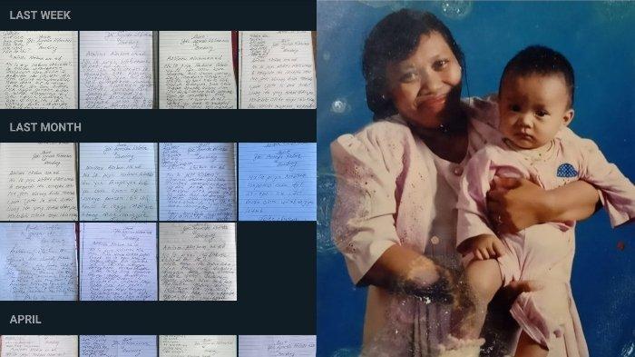 Viral di Twitter kisah haru seorang ibu yang rutin kirim surat pada anaknya karena tidak bisa memakai ponsel.