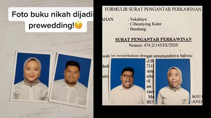 Viral Foto Buku Nikah Jadi Prewedding, Solusi Pasangan LDR dan Bisa Hemat Biaya