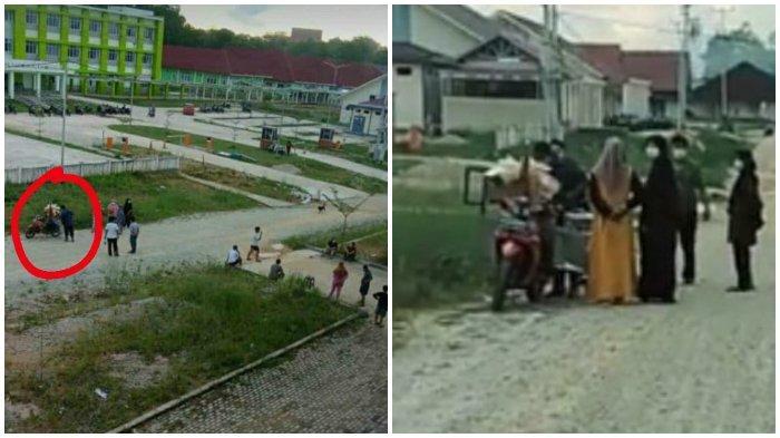 VIRAL Foto Pedagang Tetap Nekat Jualan di Rusun Lokasi Isolasi Pasien Covid-19