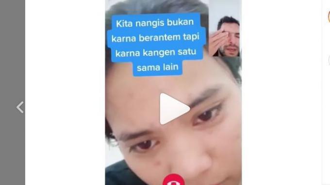 VIRAL Sepasang Kekasih Menangis Saat Melakukan Video Call, Begini Kisah Dibaliknya