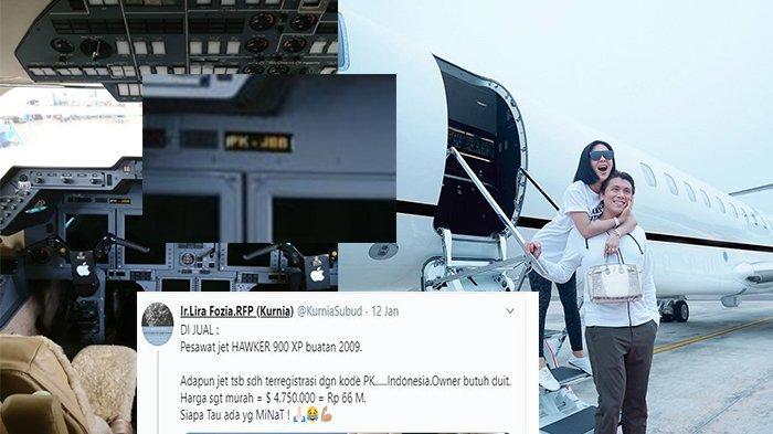 VIRAL Pesawat Dijual Rp 66 M di Medsos, Ternyata Milik