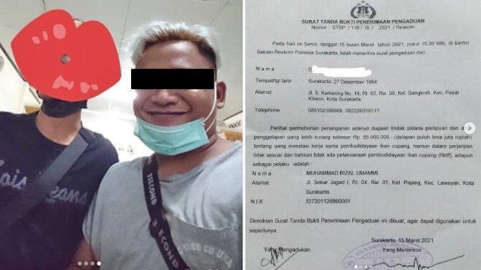 VIRAL Juragan Cupang di Solo Bawa Kabur Uang Rp 400 Juta dan Gadai Mobil, Dilaporkan Polisi