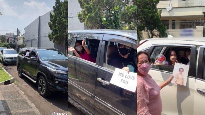 Patuh Prokes, Keluarga Ini Gelar Ulang Tahun Drive Thru, Aksinya Viral: Semoga Jadi Inspirasi