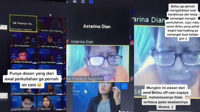 Sosok Dosen yang Viral Selalu Off Cam saat Kelas Online karena Sakit Ginjal, Sering Beri Motivasi