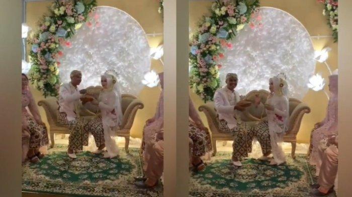 Viral kisah pengantin menikah dengan mahar bakso goreng, ternyata ada kenangannya sejak masa PDKT