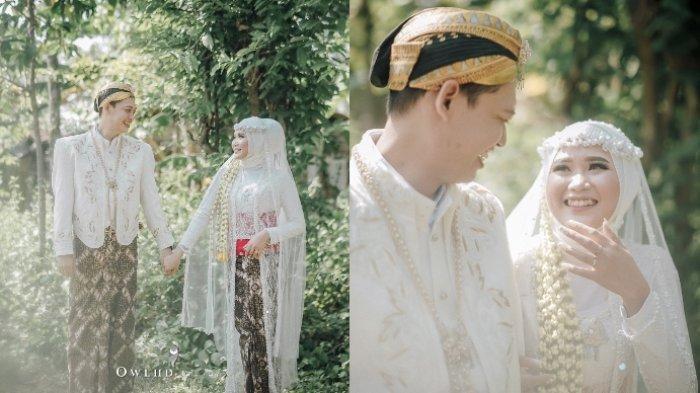 Viral kisah pengantin menikah tanpa dekorasi, hasil fotonya banjir pujian dari netter, ini kisah lengkapnya.