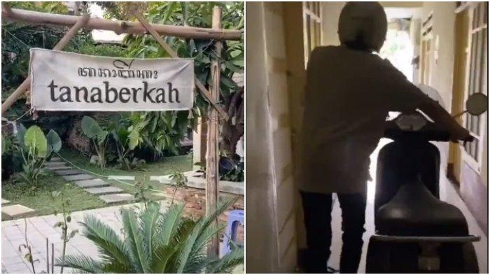 Viral Uniknya Lokasi Kafe Tanaberkah di Malang Berada di Dalam Kos-kosan, Begini Cerita Pemilik