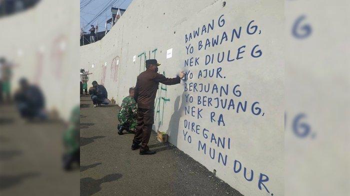 VIRAL Meme Grafiti Kajari Kota Malang, Siap Lapor Polisi Jika Ada Tulisan Negatif dan Menyinggung