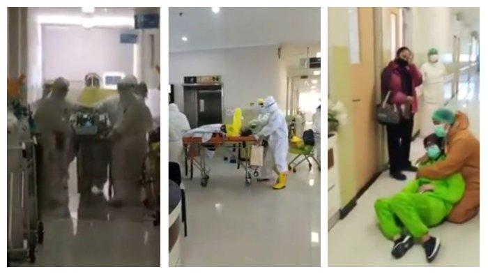 Media sosial diramaikan dengan beredarnya video diduga seorang perawat yang tengah hamil dinyatakan positif virus corona (covid-19).