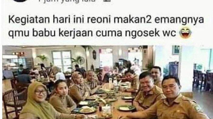 Hina Profesi Pembantu, Akun FB Oknum PNS Pemkot Tangerang Menghilang