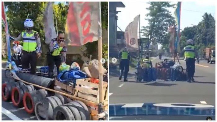 VIRAL Polisi Amankan Vespa Modifikasi di Boyolali, Pengendara Ditilang karena Ganggu Pengguna Jalan