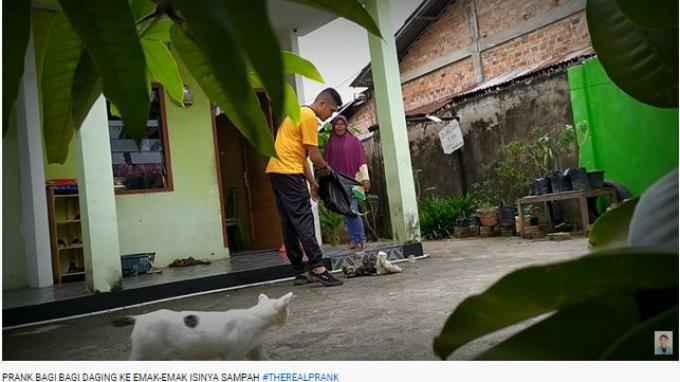Buntut Video Prank Bungkusan Daging Kurban Isi Sampah, Keluarga Ingin Edo Putra Dibebaskan