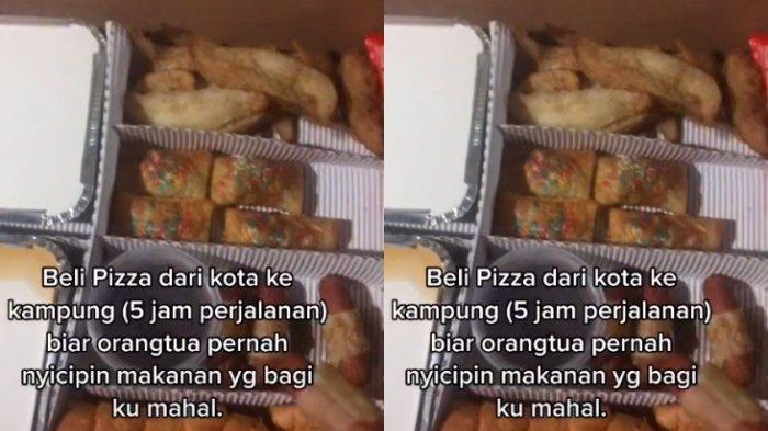 VIRAL Kisah Pria Beli Pizza untuk Orang Tua di Kampung, Tempuh 5 Jam Perjalanan, Ini Reaksi sang Ibu