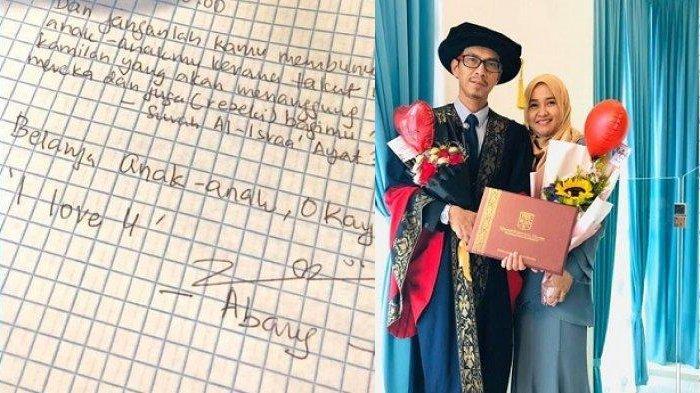 Pria Tulis Surat Romantis, 'Gajimu untuk Dirimu Sendiri, Nafkah Keluarga Kewajibanku', Bikin Meleleh