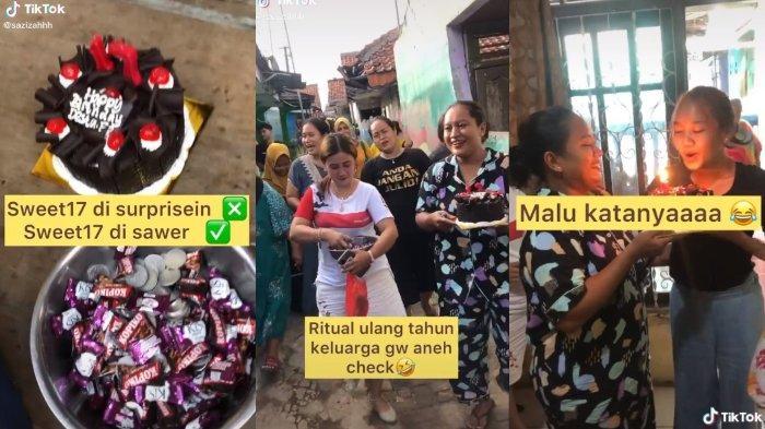 Remaja Ulang Tahun ke-17 Disawer dan Disholawati, Tampak Malu tapi Bahagia