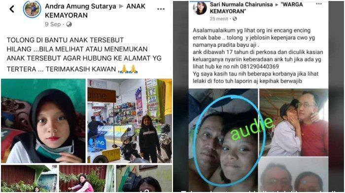 Viral Bocah 15 Tahun Hilang Diculik Pria Tak Dikenal, Pelaku Justru Pamer Foto Mesra di Facebook