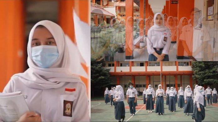 Cerita di Balik Viral Video Perpisahan SMKN 3 Bandung, Disiplin Prokes di Tengah Pandemi Covid-19