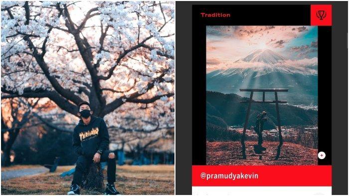 Viral sosok pria yang memenangkan kontes foto hingga dikontrak senilai Rp 90 Juta dari Adobe di Jepang.