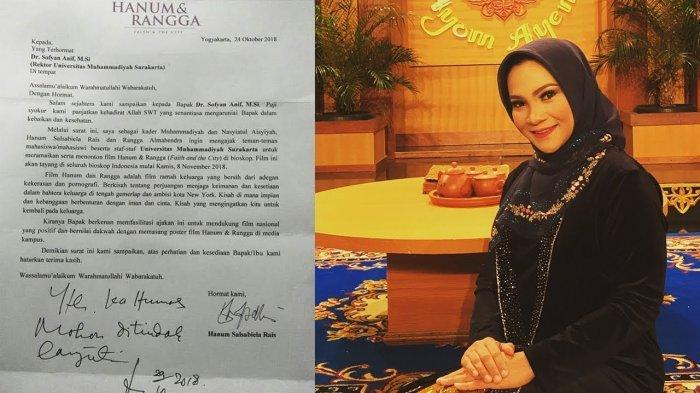 Viral Surat Hanum ke Rektor UMS Ajak Mahasiswa dan Staf Tonton Hanum & Rangga, Ini Kata Pihak Kampus