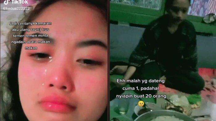 Viral ulang tahun gadis ini tak dihadiri teman-temannya 1