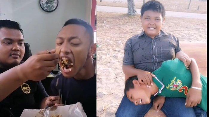Viral Video Adik Sabar Suapi Abangnya yang Idap Disabilitas, Selalu Bersama Sejak Kecil