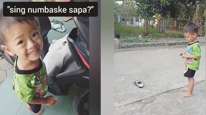 Viral Video Ayah Belikan Mobil Remot Wiyu-wiyu untuk Anak Tercinta, Ini Ekspresi saat Menerimanya