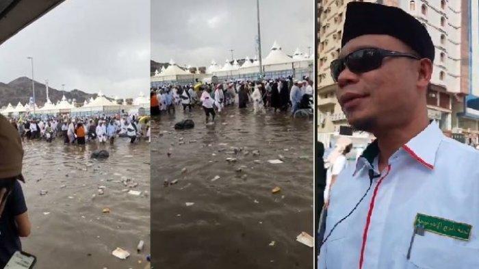 Viral Banjir di Mina, Bagaimana Kondisi Jemaah Haji Indonesia? Ini Penjelasan Kementerian Agama