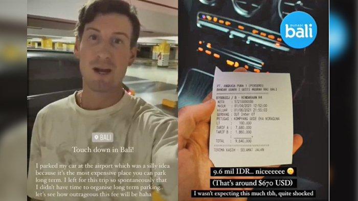 Viral Video Bule Syok Bayar Parkir Rp 9,6 Juta di Bandara Ngurah Rai, Ini Penjelasan Pihak Manajemen