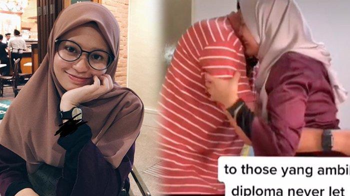 VIRAL Video Gadis Menjerit dan Menangis karena Diterima di Jurusan Kedokteran, si Ayah Beri Pelukan