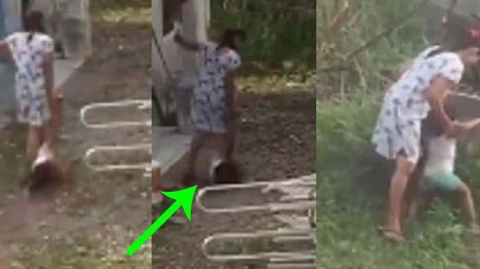Video Viral Ibu Seret Kaki Balita Posisi Kepala di Tanah, Nangis Histeris Cuma Gegara Tanaman Cabai