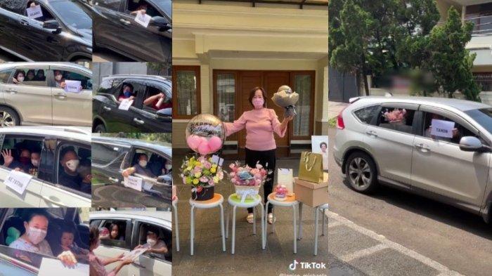 Viral di media sosial, video keluarga gelar ulang tahun drive thru, beri kejutan untuk sang nenek. Berikut kisahnya.