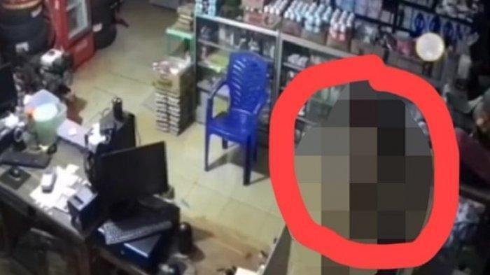 Viral Video Maling Tanpa Busana di Konawe Selatan, Bobol Toko Kelontong, Gondol Uang Rp 3 Juta