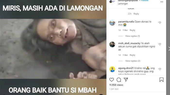 VIRAL Video Kondisi Memprihatinkan Nenek Muntiah, Pihak Keluarga Bantah Tak Mengurusnya dengan Baik