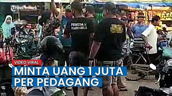 Viral Video Oknum Anggota Ormas Palak Ibu-ibu di Pasar Jepon Blora, Minta Uang Keamanan Rp 1 Juta