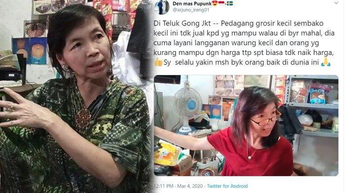 Viral Video Pemilik Toko Sembako Tenangkan Pembeli yang Panic Buying, Harga Normal, Barang Hilang