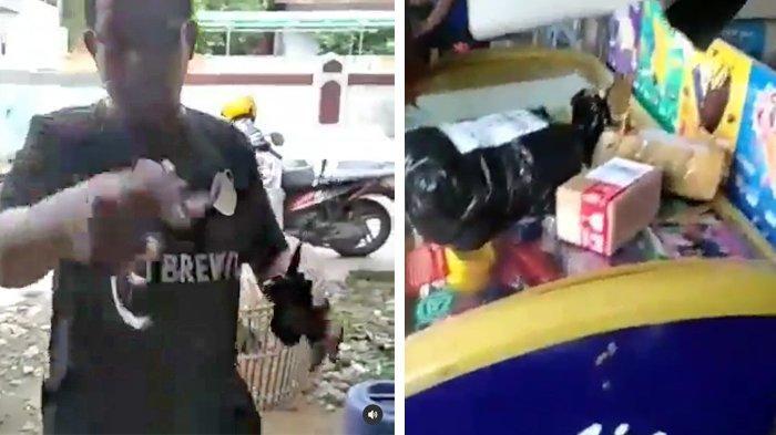 VIRAL Video Pria di Tangerang Ancam Borgol Kurir saat COD karena Merasa Ditipu, Ini Kata Polisi