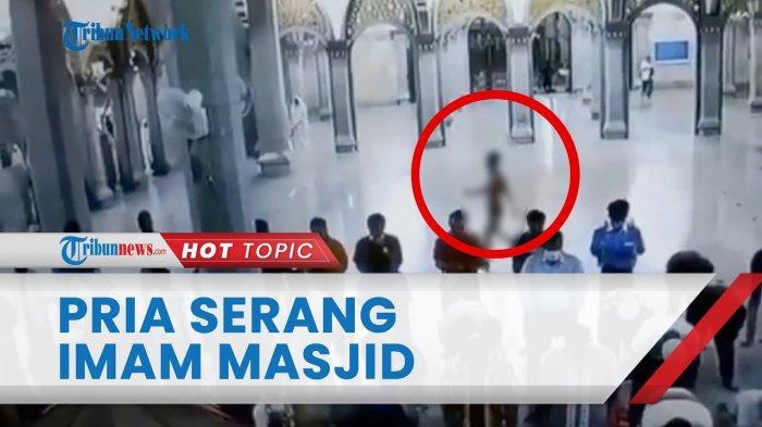Viral Video Pria Hanya Pakai Celana Dalam Serang Imam Masjid di Cilegon, Ini Fakta yang Sebenarnya