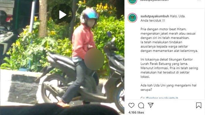 VIRAL Video Pria Masturbasi di Pinggir Jalan Payakumbuh, Polisi Duga Pelaku Alami Kelainan Jiwa