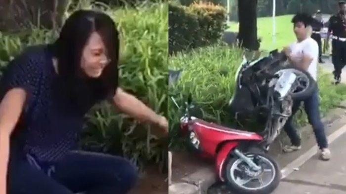 Terkuak! Honda Scoopy yang Dirusak Pria Karena Enggak Terima Ditilang Milik Kekasihnya