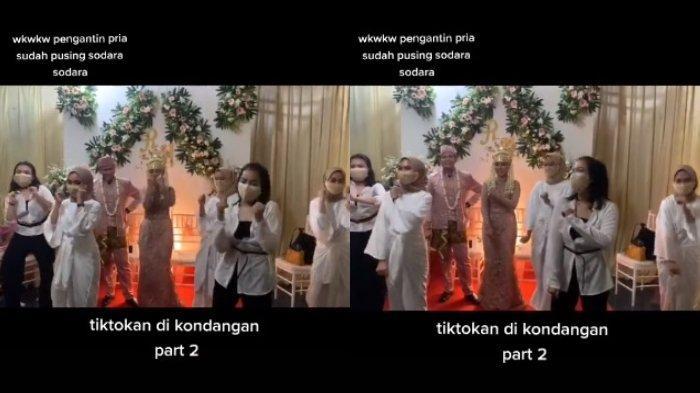 VIRAL Rombongan Wanita Berjoget TikTok di Acara Pernikahan Teman, Begini Cerita Keseruannya