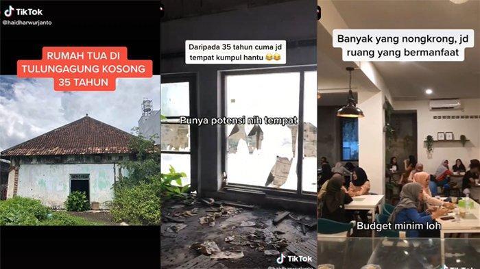 Viral Video Rumah Kosong 35 Tahun Disulap Jadi Kafe, Lihat Ini Penampakannya Sekarang