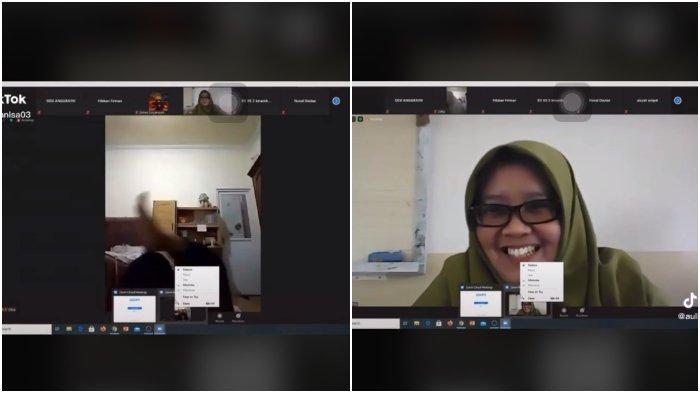 Viral Video Siswi Ini Ketahuan Guru Asyik Rebahan Saat Kelas Online, Akui Lupa Matikan Kamera