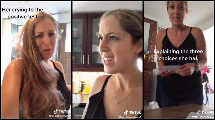 VIRAL Video TikTok Reaksi Ibu Mengetahui Anaknya yang Berusia 17 Tahun Hamil, Tawarkan 3 Pilihan