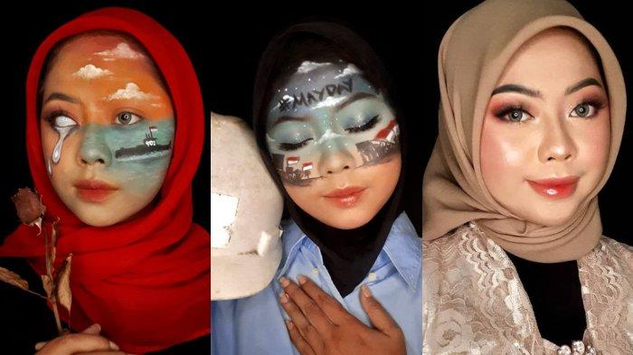 Viral Wanita Ceritakan Momen di Indonesia lewat Make Up, Akui Belajar Sendiri dari YouTube & IG