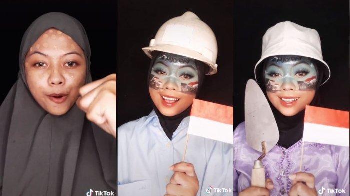 Viral Wanita Ekspresikan Momen Hari Buruh Lewat Make Up, Videonya Ditonton 14 Juta Orang Lebih