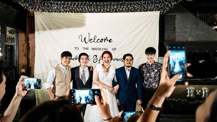 Viral Wanita Undang 3 Mantan Pacar Sekaligus di Pernikahannya, Ekspresi Suami Tak Bisa Bohong