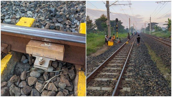 Viral Warga Iseng Taruh Batu di Rel Kereta, PT KAI Angkat Bicara, Pelaku Bisa Diproses Hukum