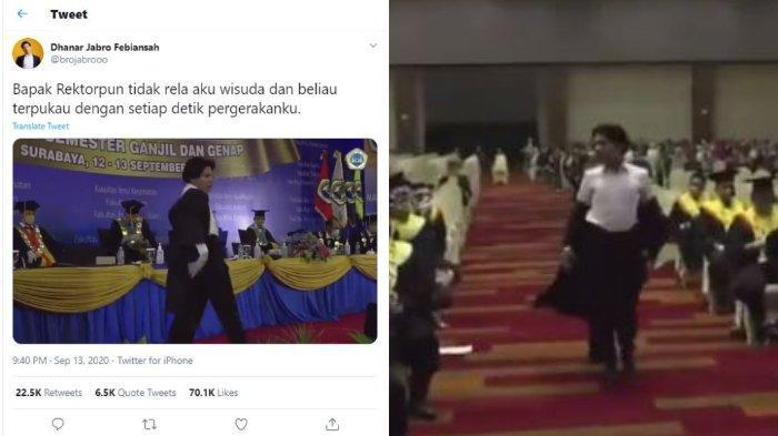 VIRAL Video Wisudawan Menari Diiringi Lagu BLACKPINK di Hadapan Rektor, Begini Faktanya